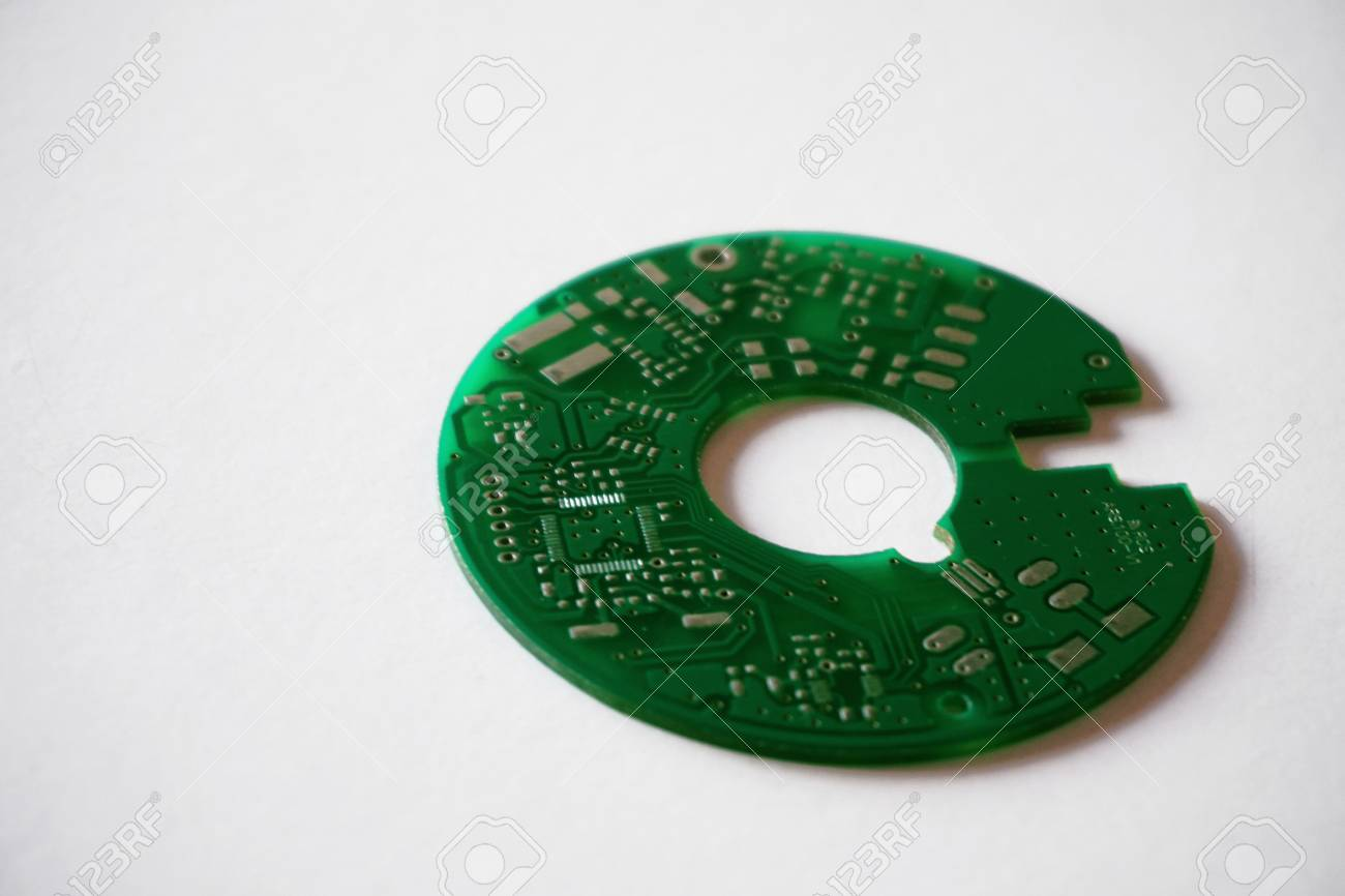 Printed Circuit Board Pcb On White Background Stock Photo Picture In Several Locations This 94426566