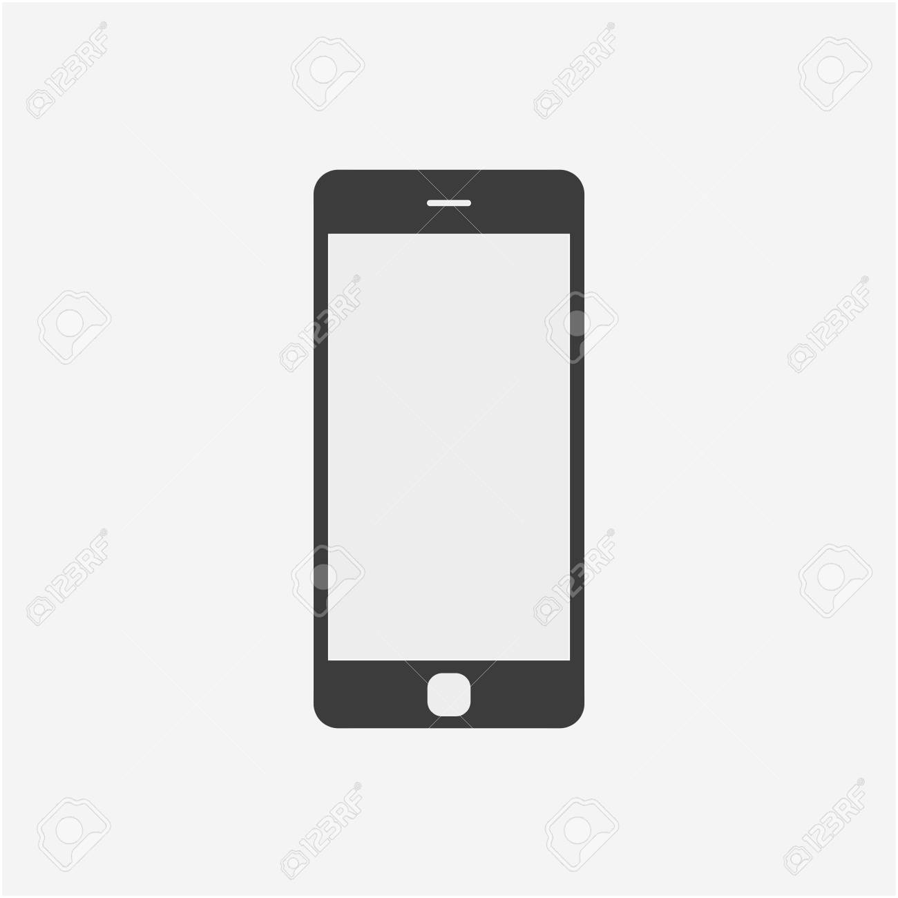 mobile phone icon vector illustration smartphone icon royalty free rh 123rf com phone icon vector freepik phone icon vector cdr