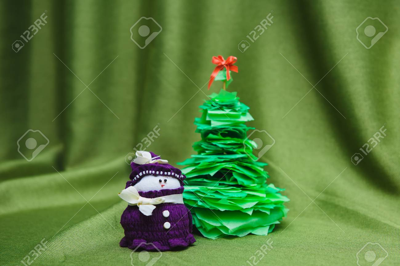 Christmas Handicrafts Decoration Stock Photo Picture And Royalty