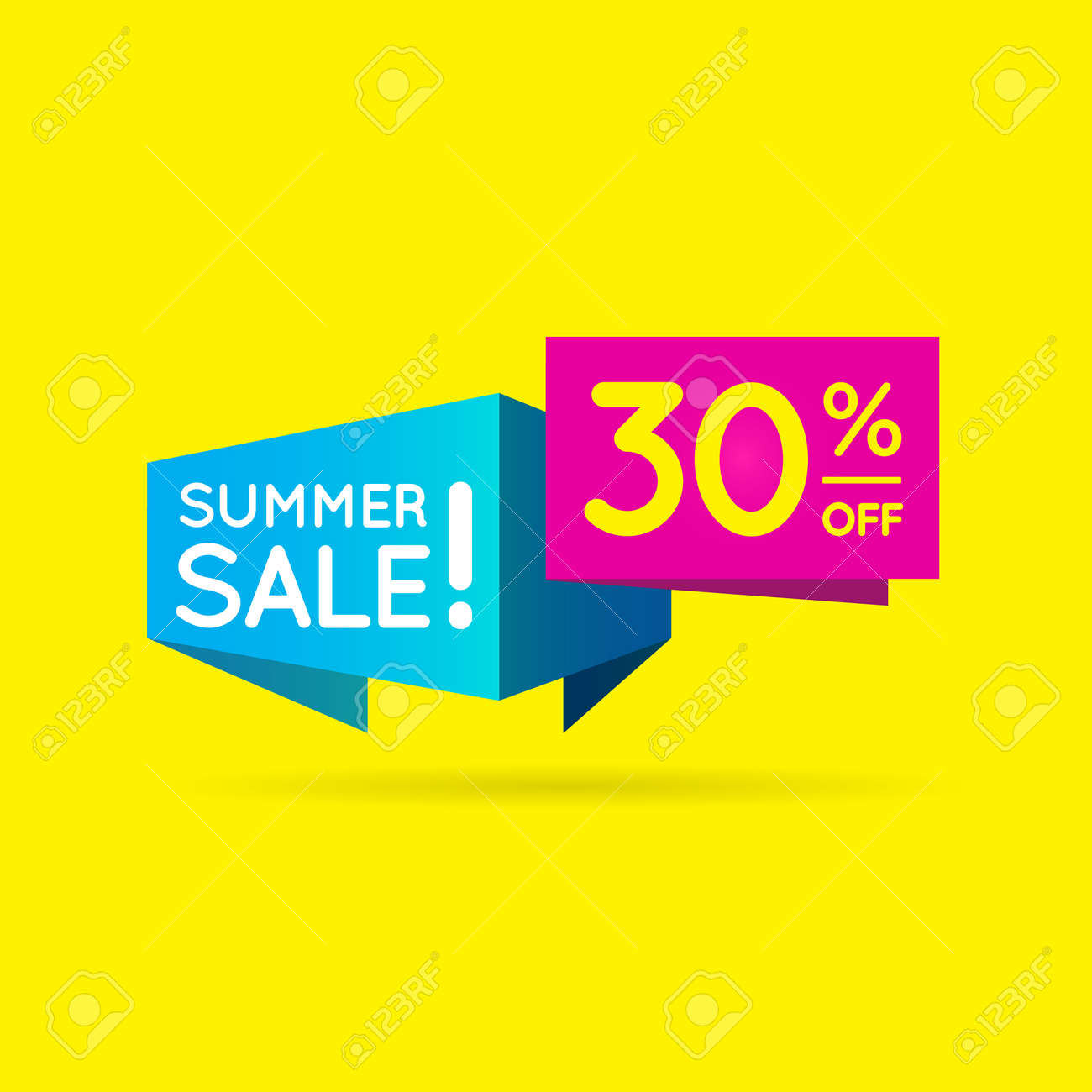 Business Sell 30% Offer shape  Sell shape to best offer your product - 158979503