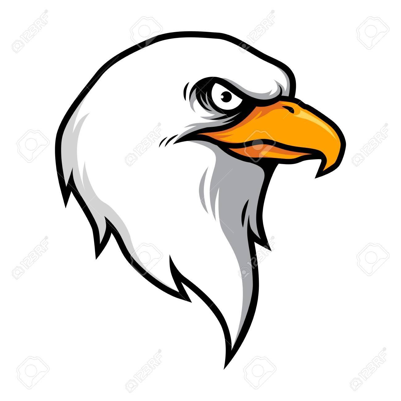 Free Eagle Head Clip Art   Eagle drawing, Eagle art, Art