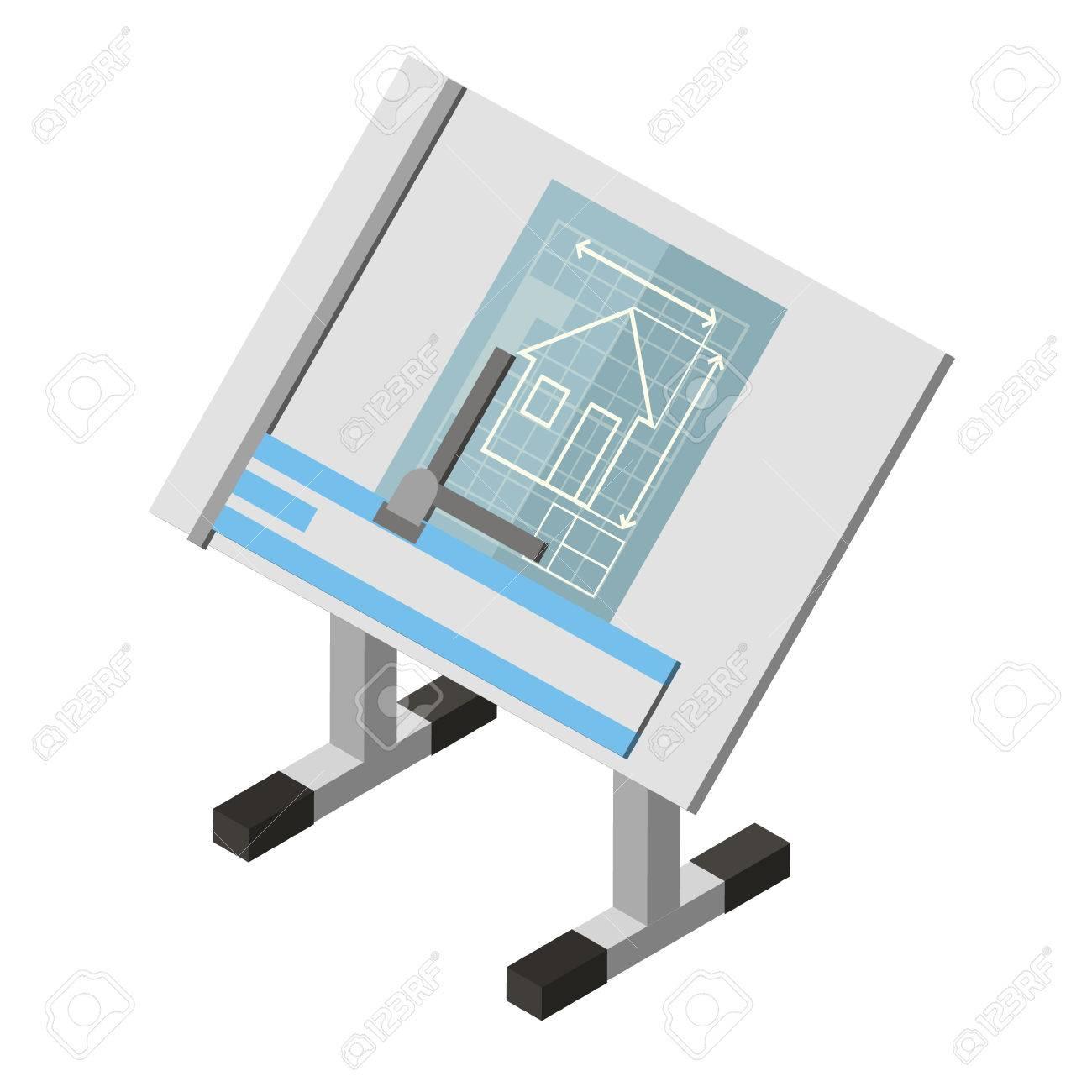 tableau architecture tableau architecture moderne jaune farnsworth projection ingnieur tableau maison darchitecture dessin isomtrique icne banque - Architecture Moderne Maison Dessin