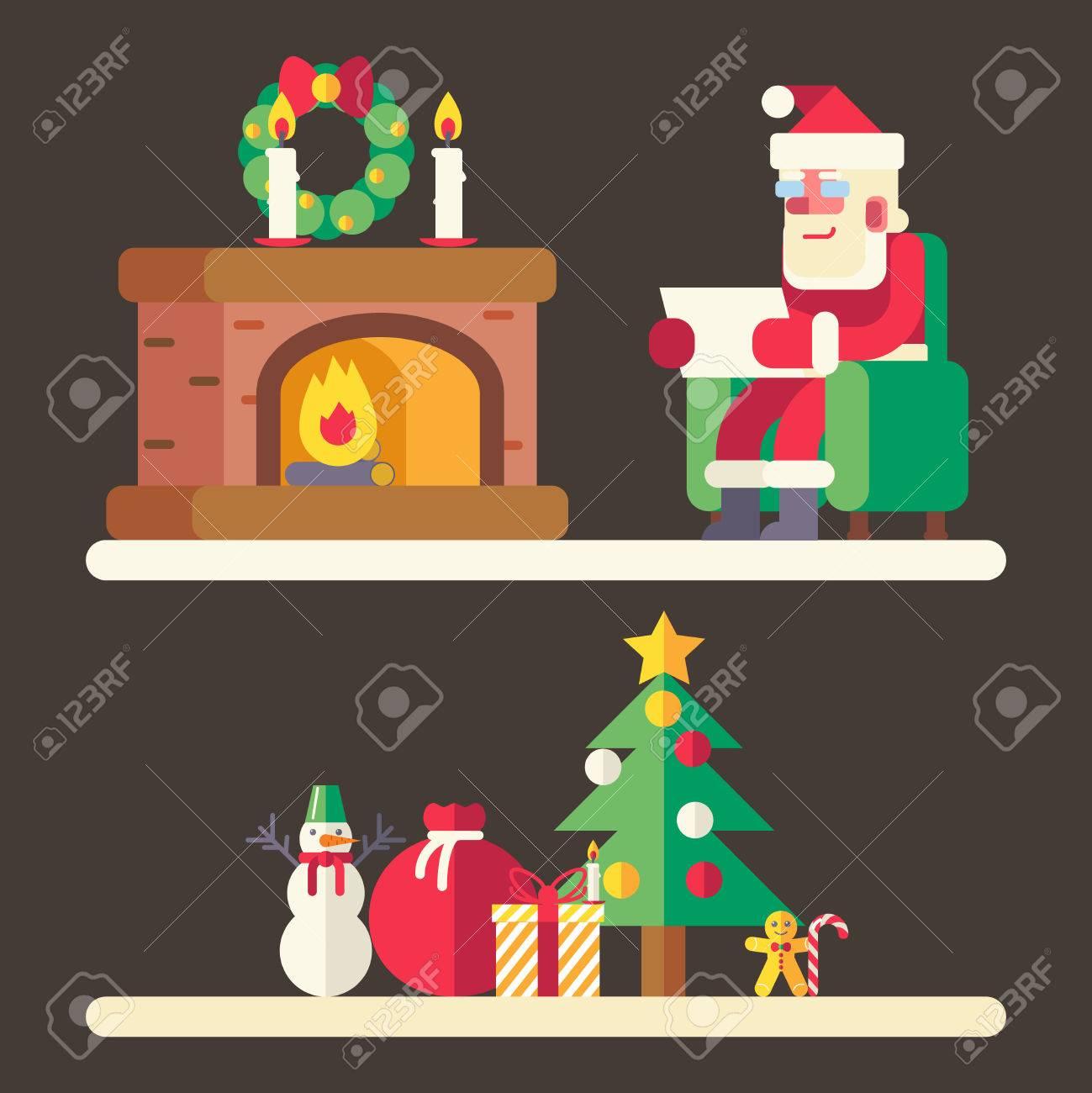 Atemberaubend Weihnachtsmann Listenvorlage Ideen - Beispiel Business ...