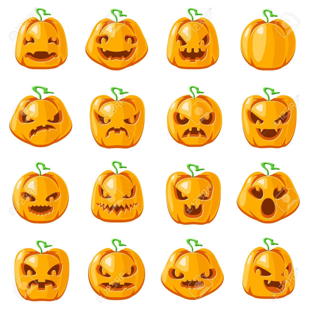 decoration halloween jack o lantern pumpkin scary faces smile rh 123rf com scary pumpkin faces carving pumpkin scary faces ideas