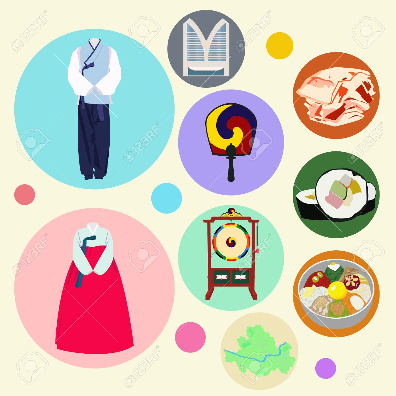 korean traditional elements vector set royalty free cliparts vectors and stock illustration image 37395891 korean traditional elements vector set