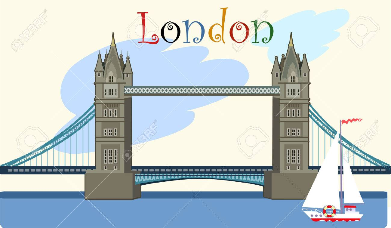 Tower Bridge Royalty Free Cliparts Vectors And Stock Illustration