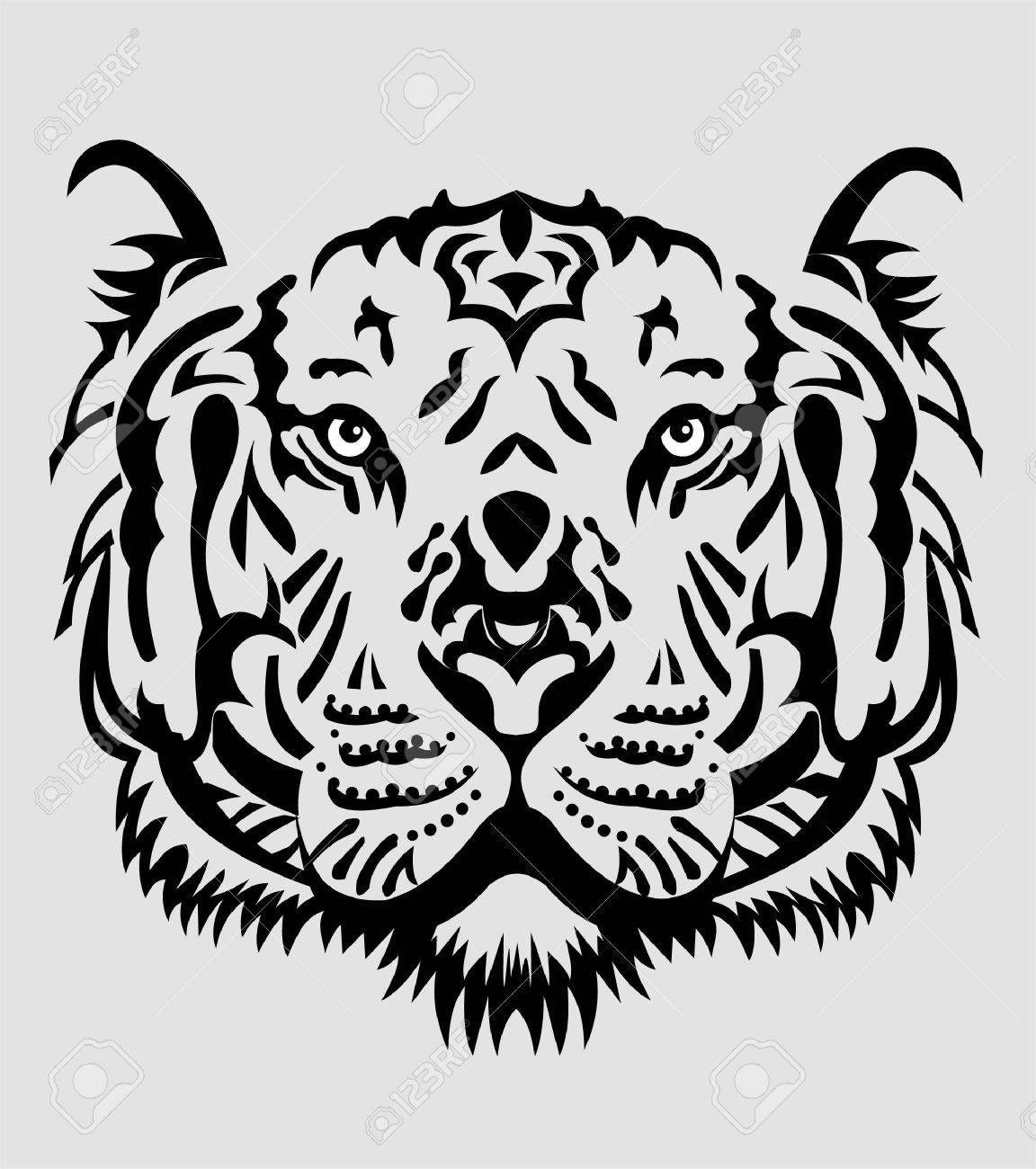 Tiger Face - 83388737