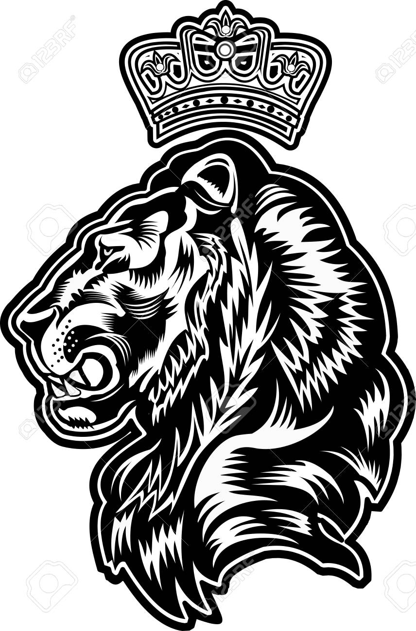 Lion King Tattoo Royalty Free Cliparts Vectors And Stock