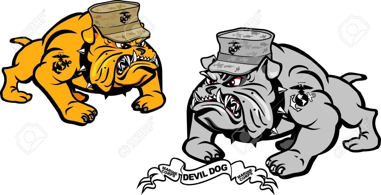 military bulldog marine corps devil dog royalty free cliparts vectors and stock illustration image 126400201 military bulldog marine corps devil dog