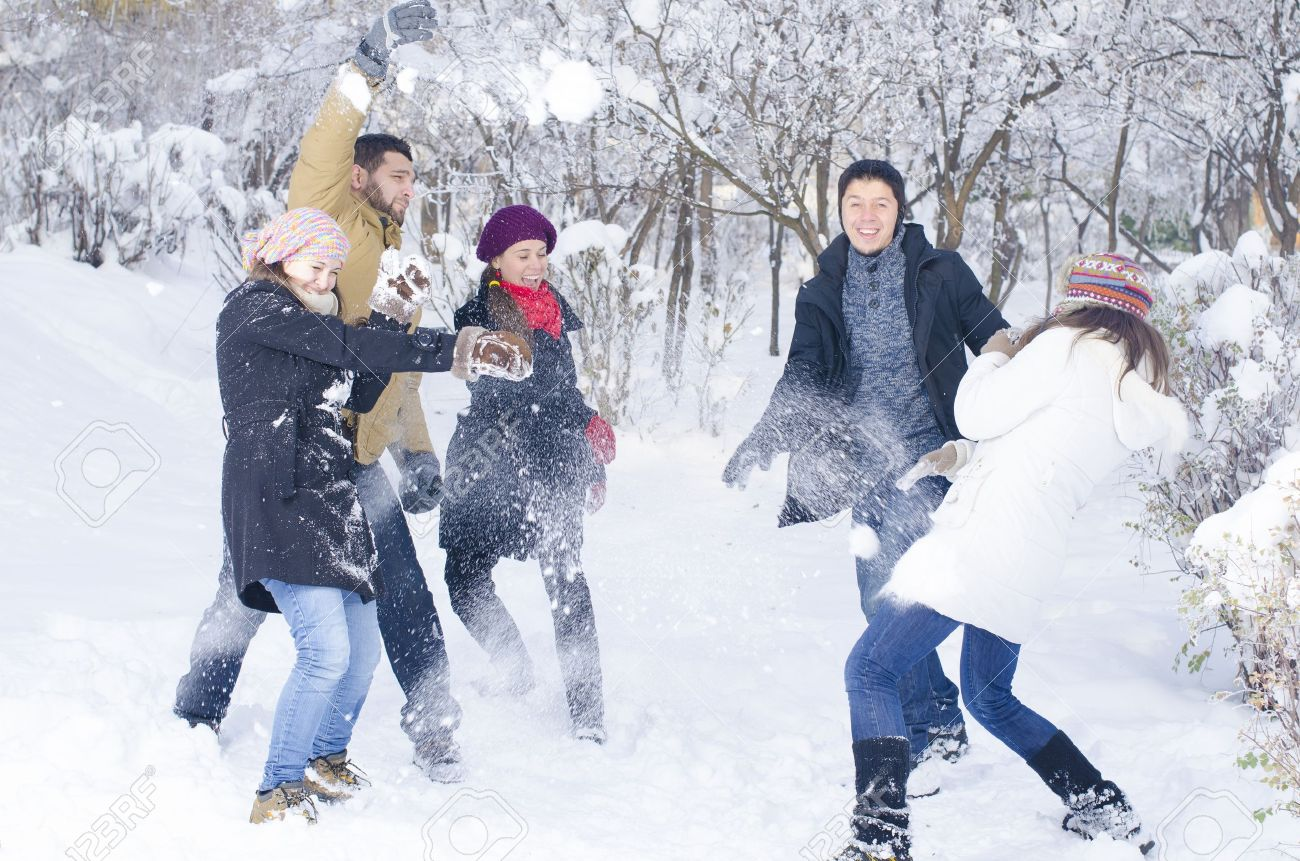Image result for images of playing in the snow