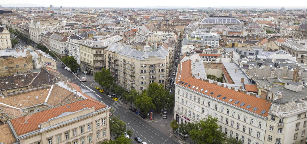 Budapest from a birds eye viewpoint. Hungarian - 148551991