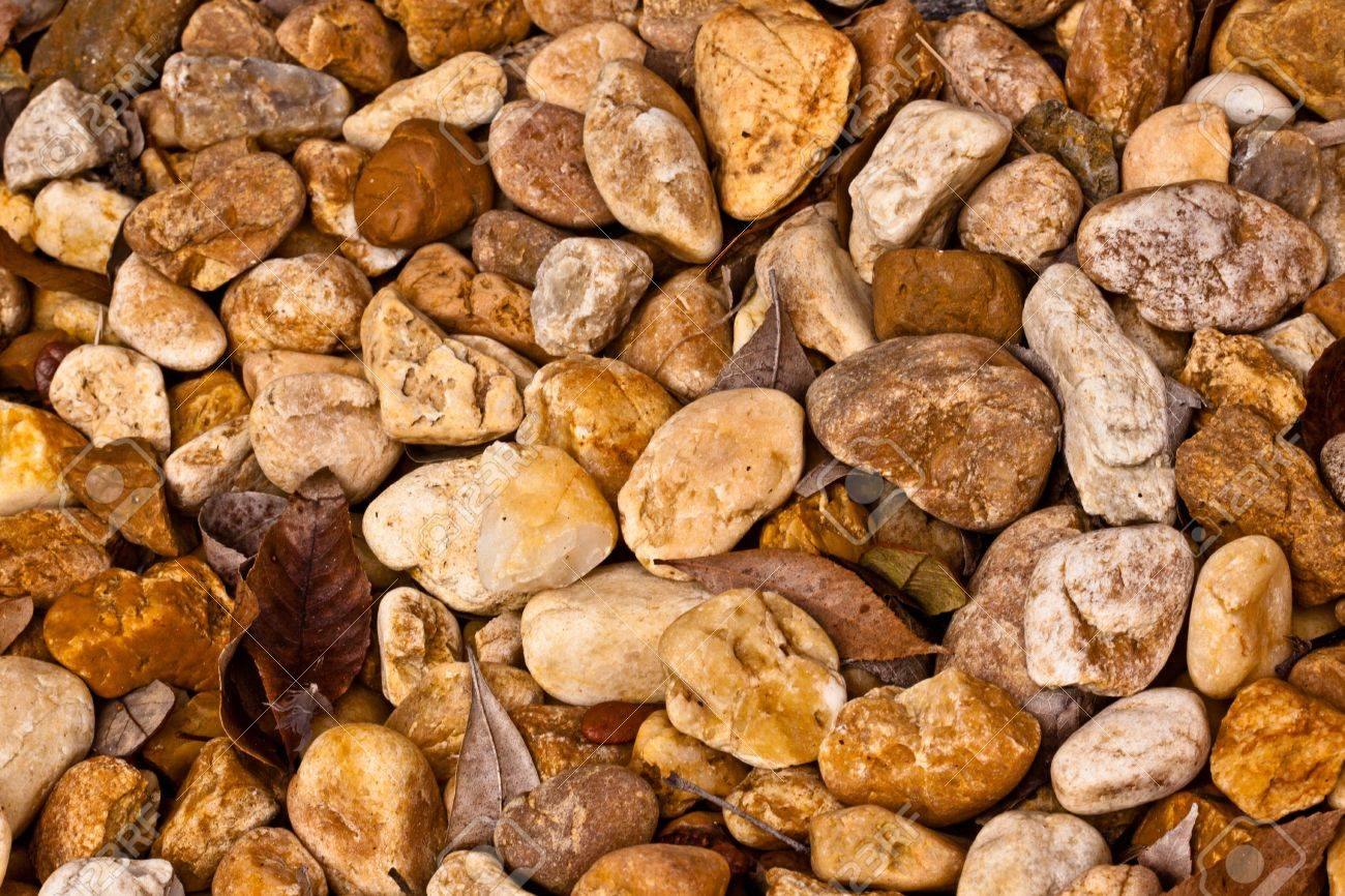 Different types od rocks background and texture