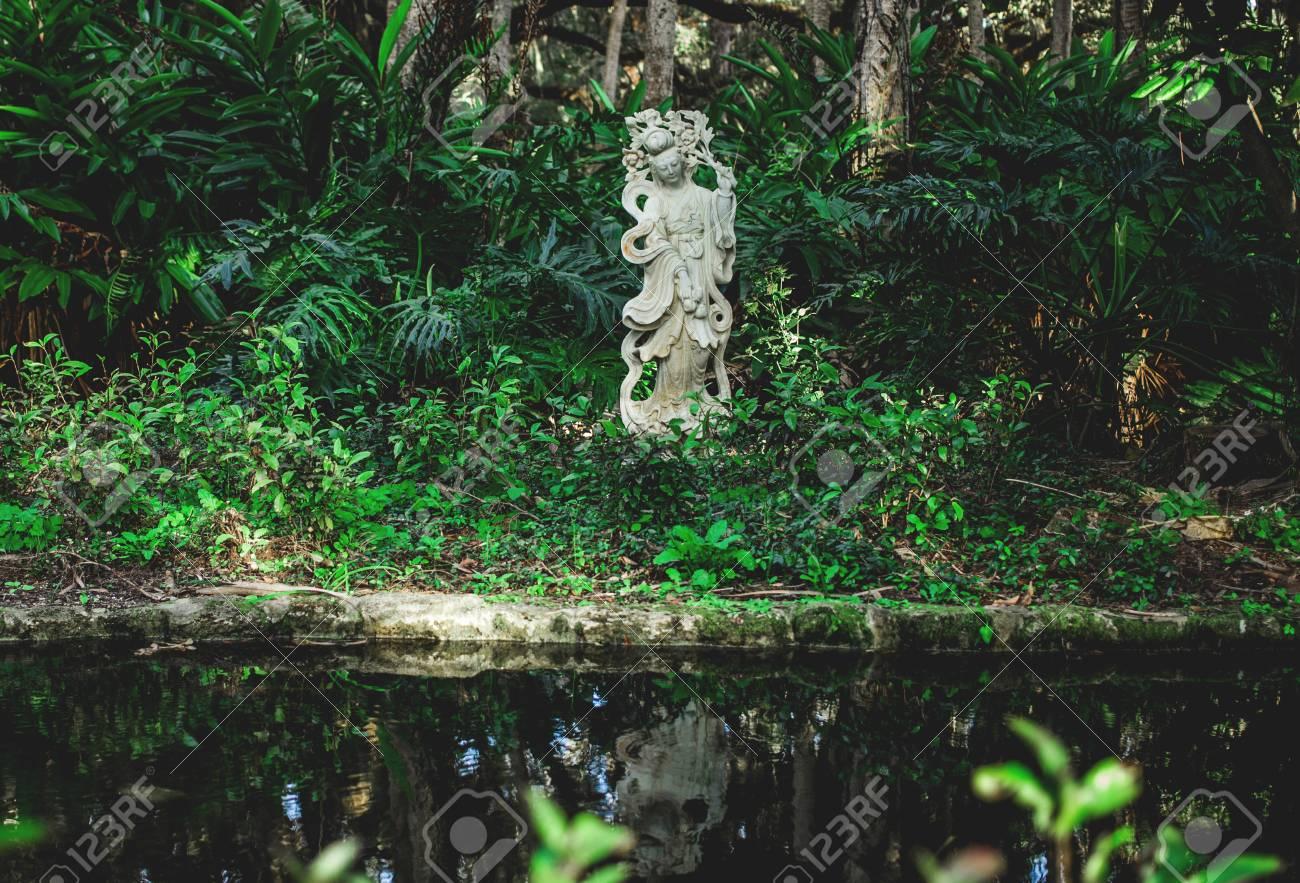 Bon Chinese Garden Decor Stock Photo   69780152