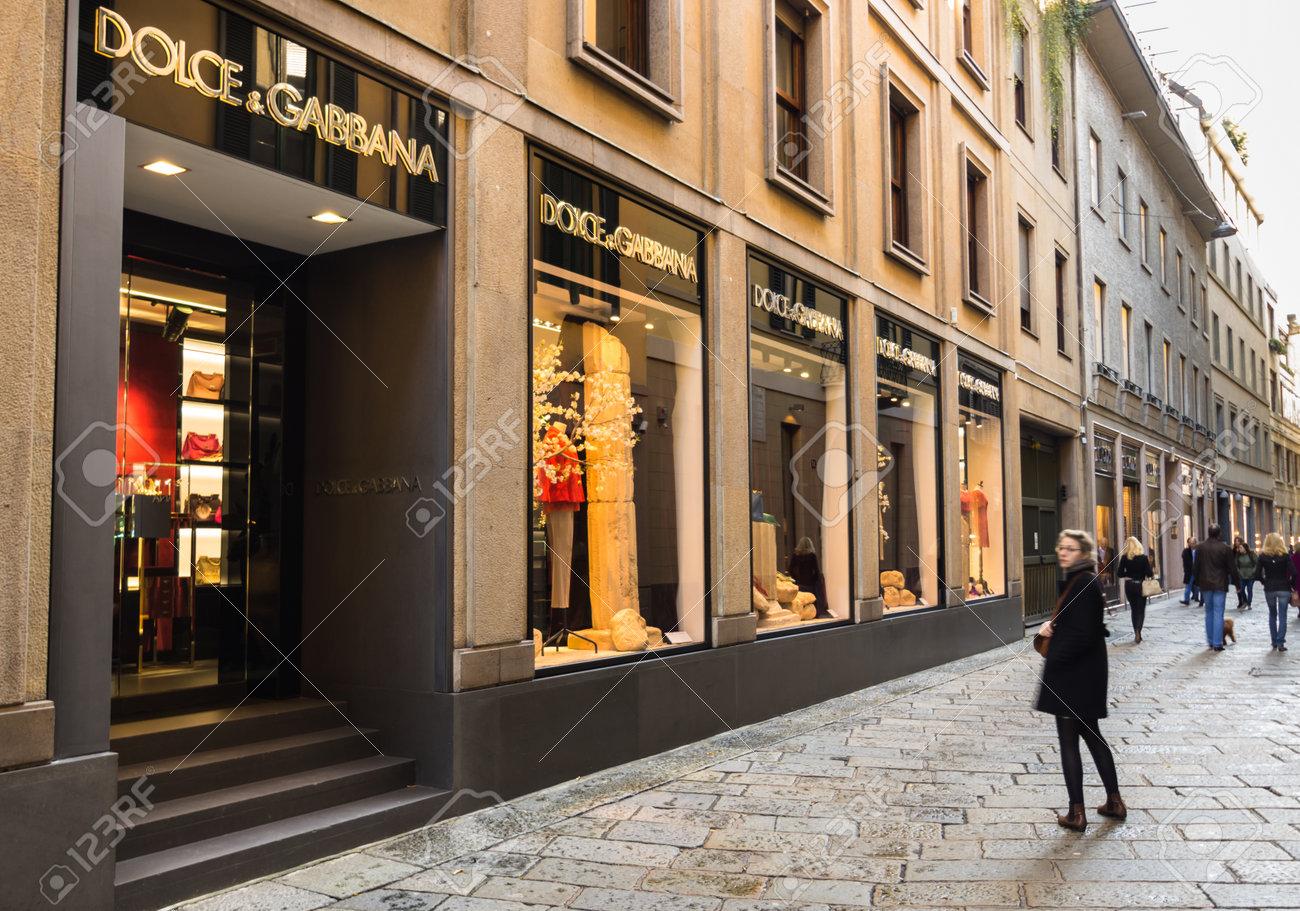 Dolce Gabbana Store In Via Della Spiga Milan 3b547e522991d