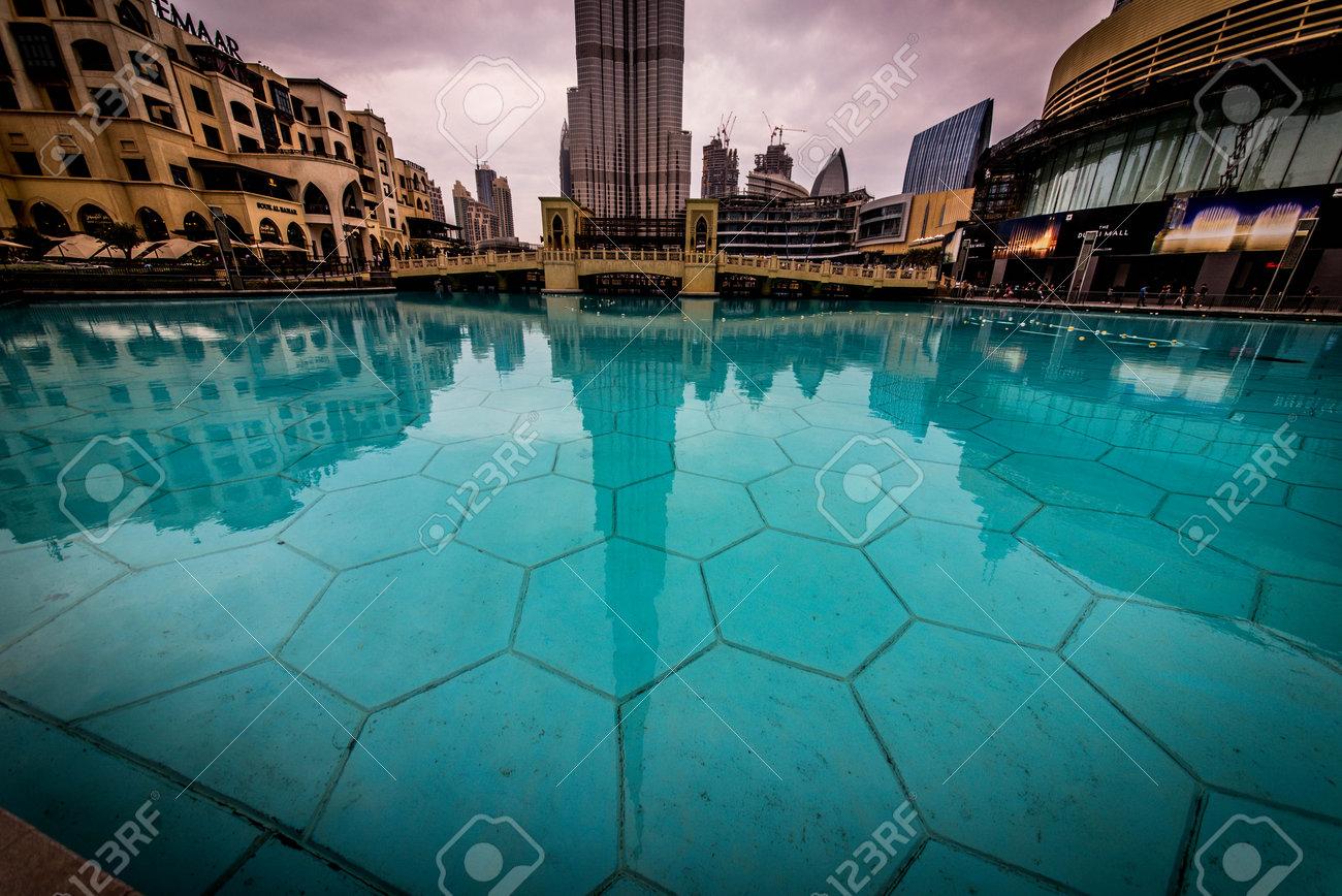 DUBAI, UNITED ARAB EMIRATES - FEBRUARY 16, 2017: Burj Khalifa