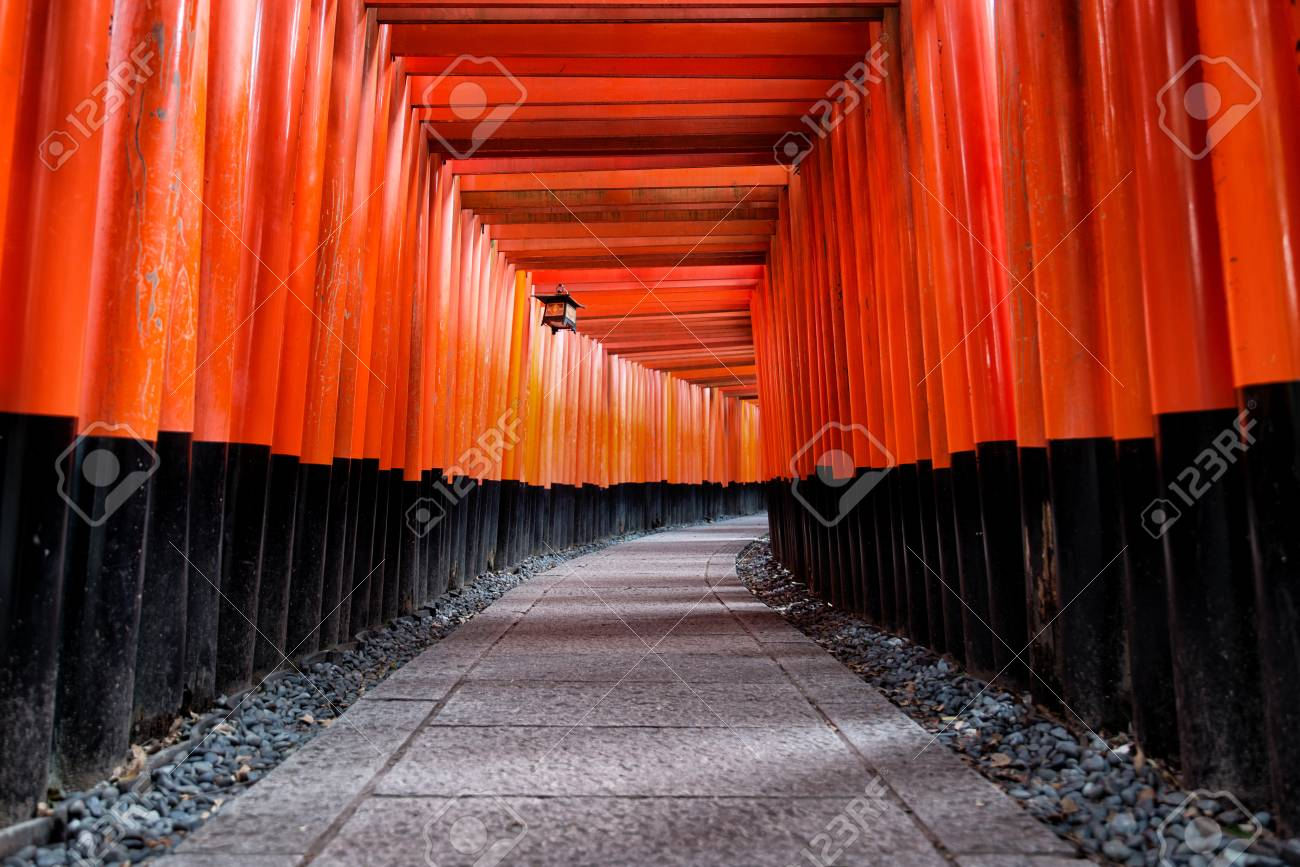 Fushimi Inari shrine in Kyoto, Japan - 101188789