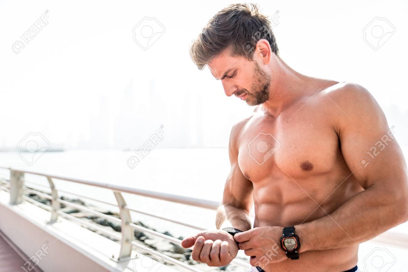 Doing beautiful guy