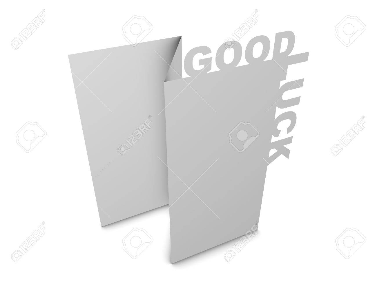 3d rendering, design element, Greeting card creative concept, isolated. Stock Photo - 11742584