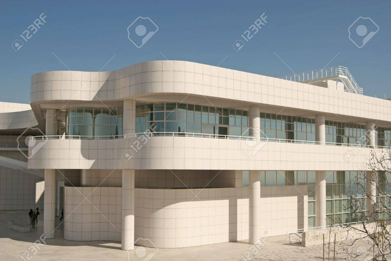 Modern Architecture Los Angeles fantastic modern architecture of the getty center, los angeles,..