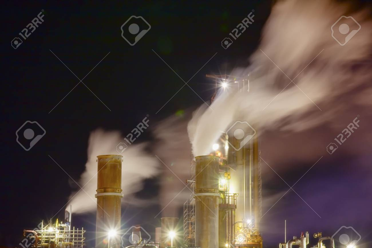 Part of the oil refinery - 7262305