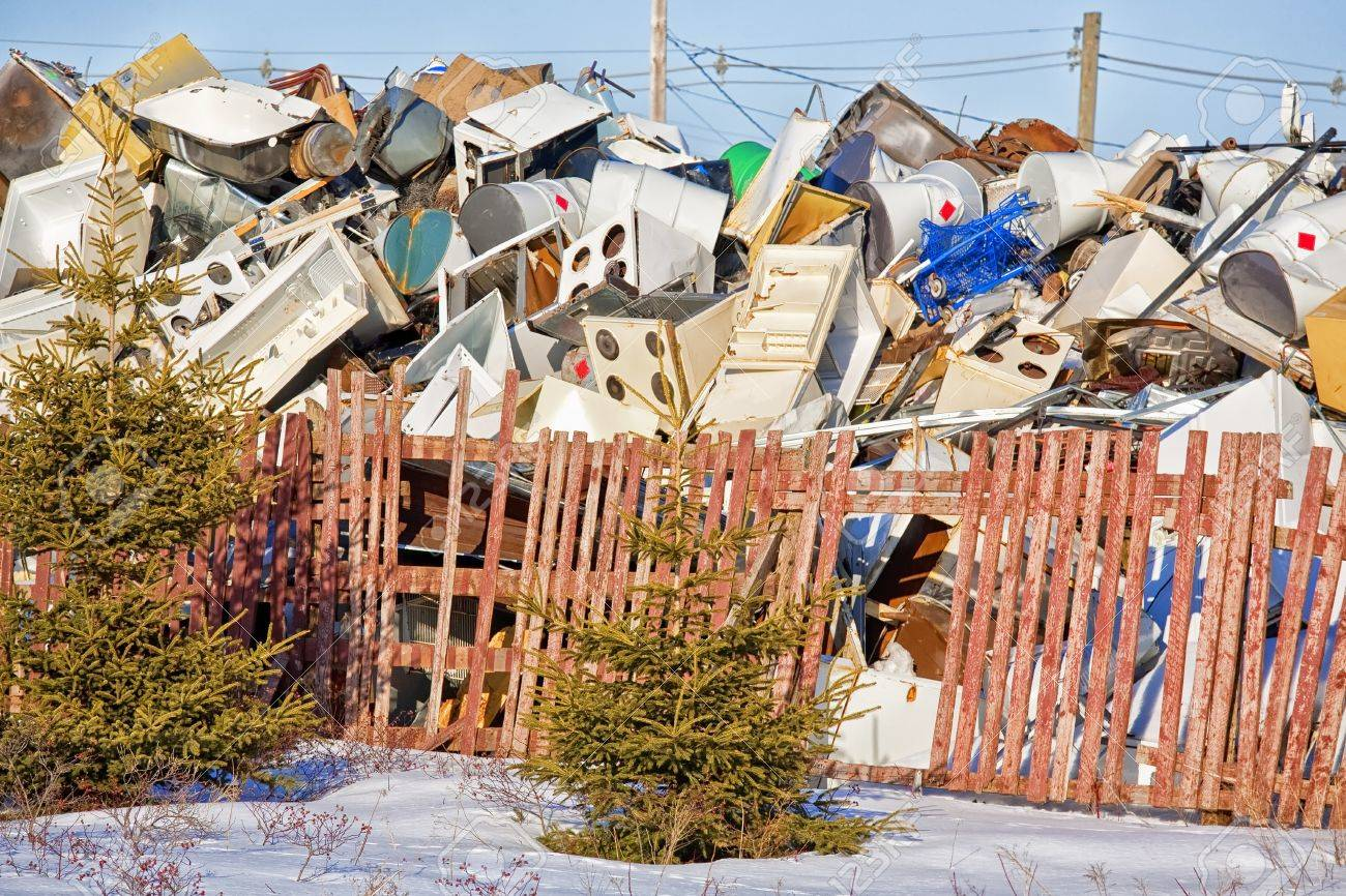 House Of Appliances An Accumulation Of Appliances And Other Large Pieces Of Refuge