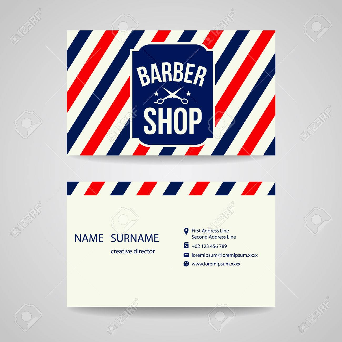 Business card template design for barber shop royalty free cliparts business card template design for barber shop stock vector 39559057 flashek
