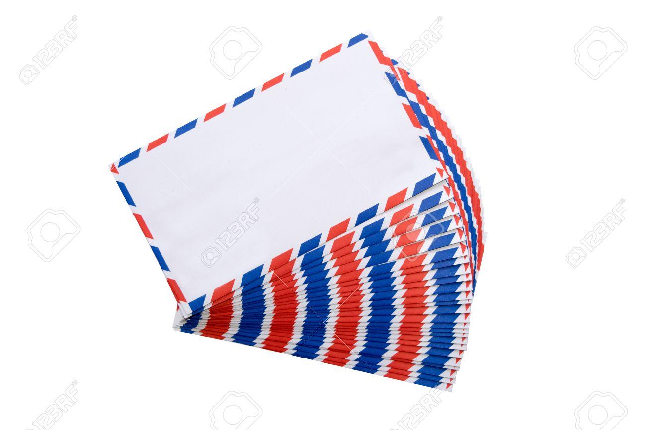 Resultado de imagen para sobres  de cartas con rojo y azul