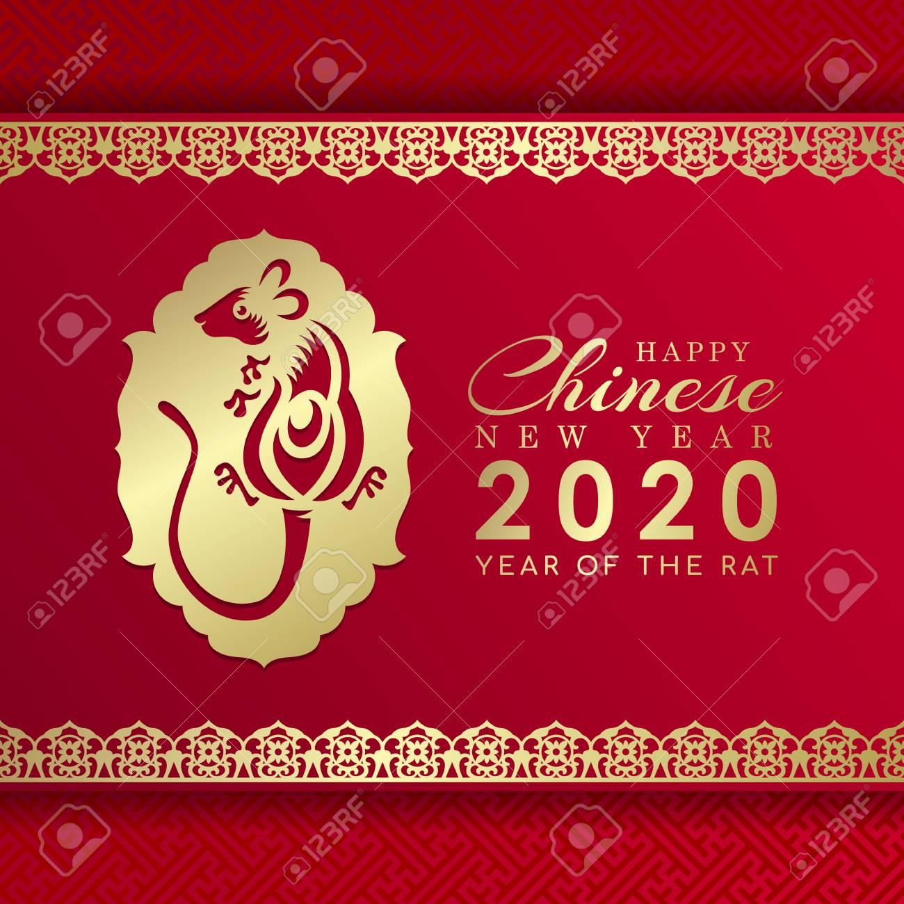 Chinese new year 2020 zodiac