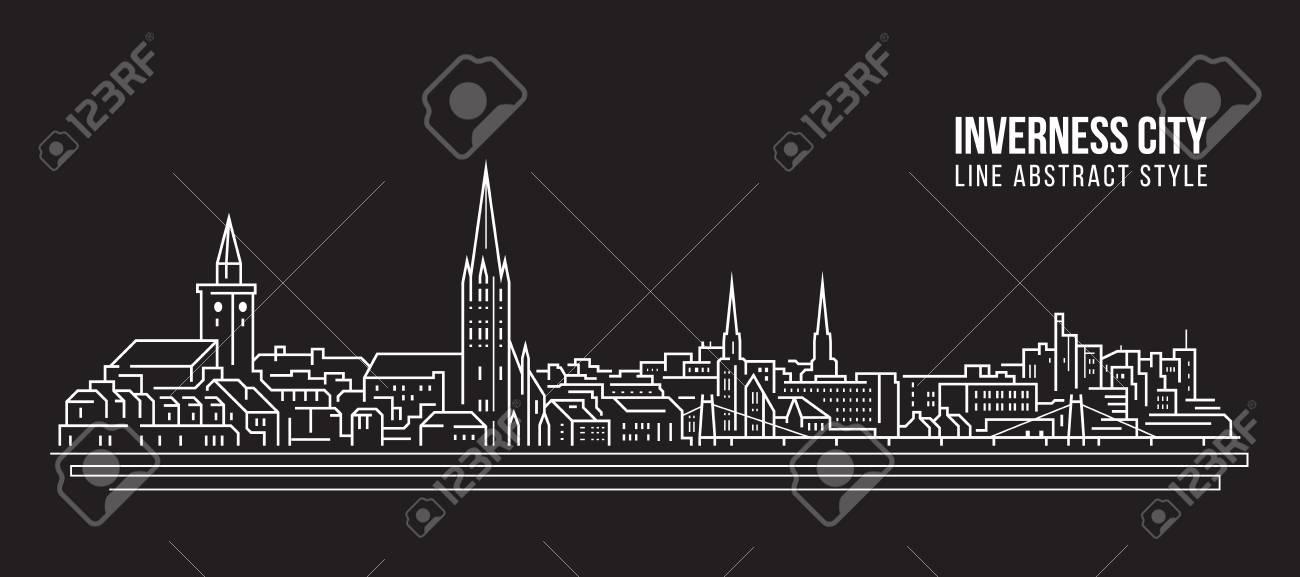 Cityscape Building Line art - 124845853