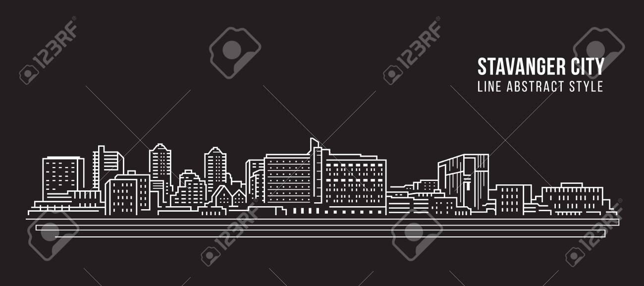 Cityscape Building Line art - 128690972