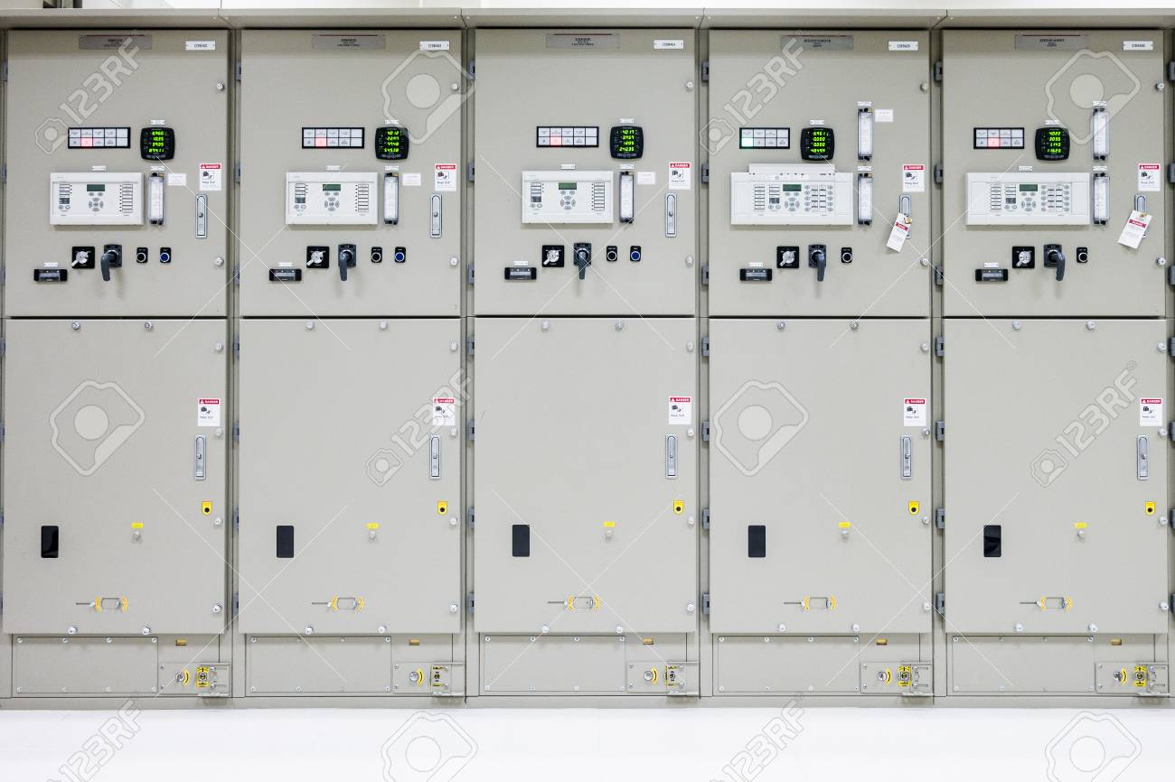 Electrical Room, Medium And High Voltage Switcher, Equipment ...