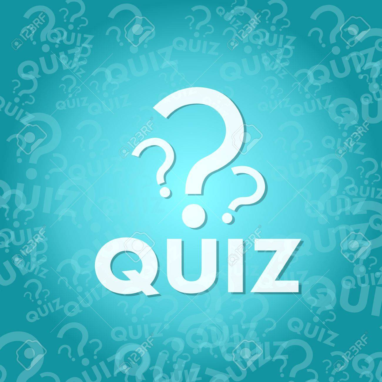 Stylish Quiz Sign Background With Space For Own Text Stock Photo Picture And Royalty Free Image Image 27956493