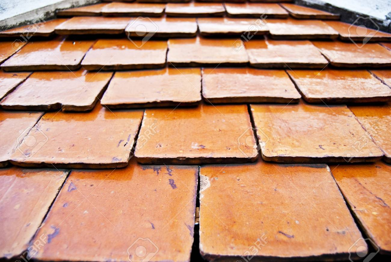 Depth of field in ceramic roof tiles stock photo picture and depth of field in ceramic roof tiles stock photo 13877967 dailygadgetfo Image collections