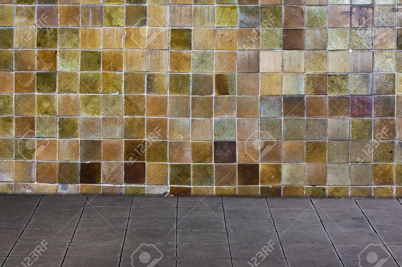 Multi color ceramic wall and ceramic tiles floor stock photo multi color ceramic wall and ceramic tiles floor stock photo 13877993 dailygadgetfo Choice Image