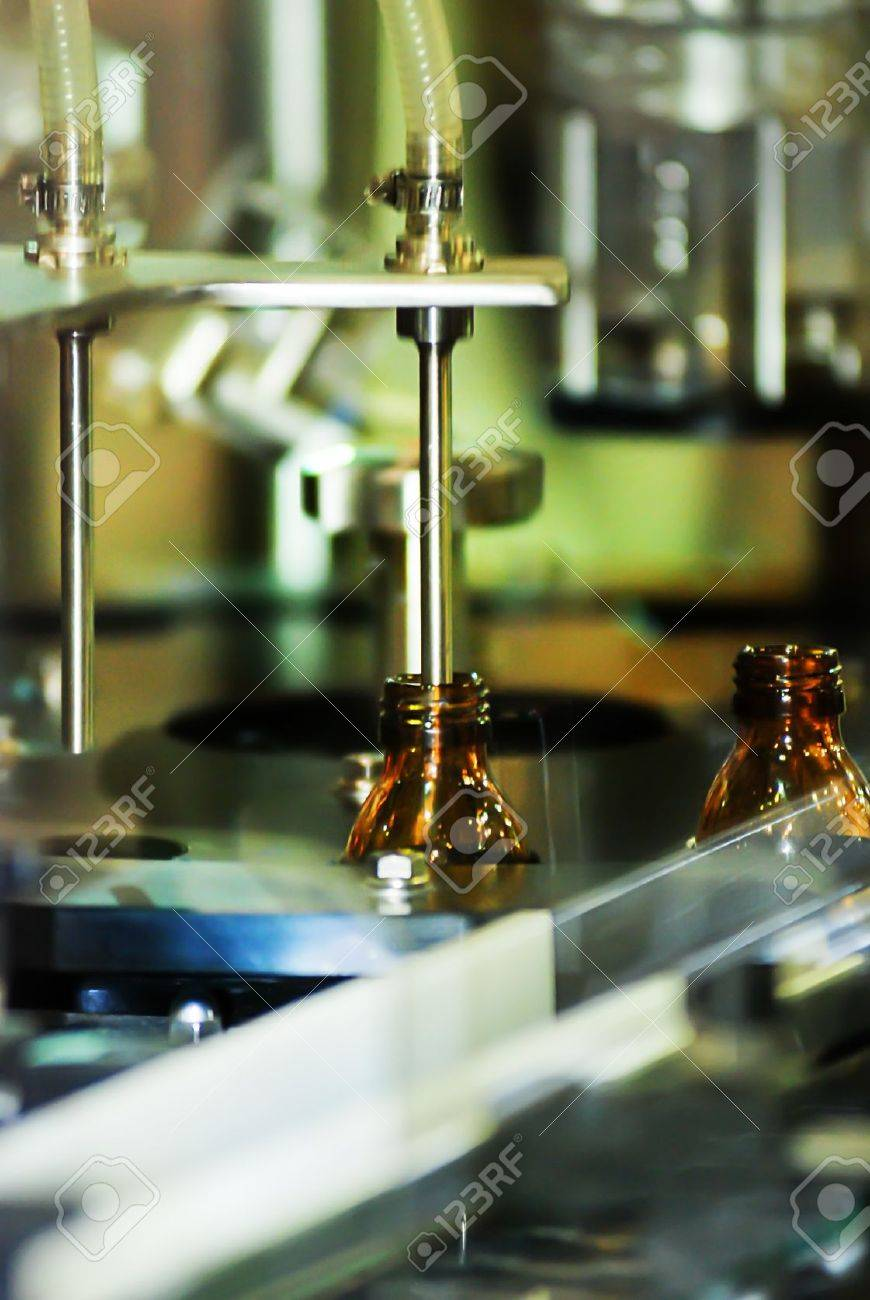 Filling machine for the pharmaceutical industry Stock Photo - 15801786