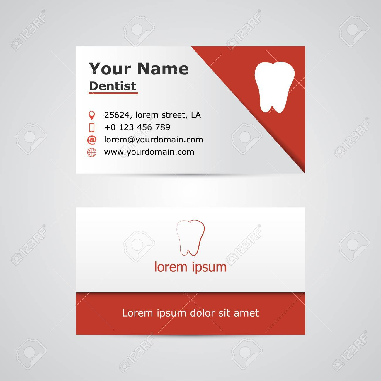 Dental business card template vector illustration royalty free dental business card template vector illustration stock vector 66269590 flashek