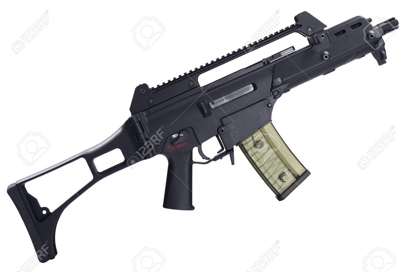 16246536-Semi-automatic-assault-rifle-is