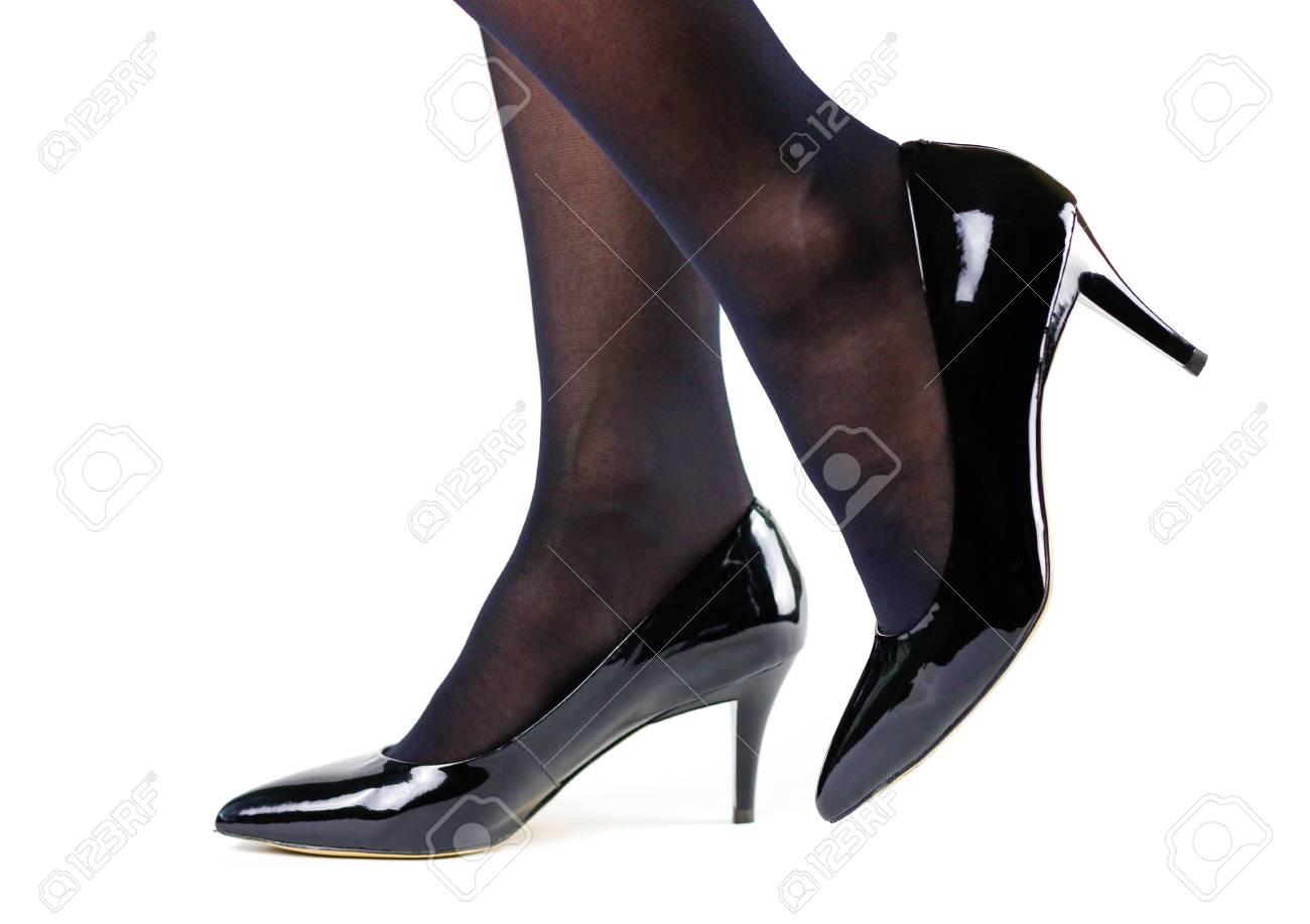 Black girls in high heels