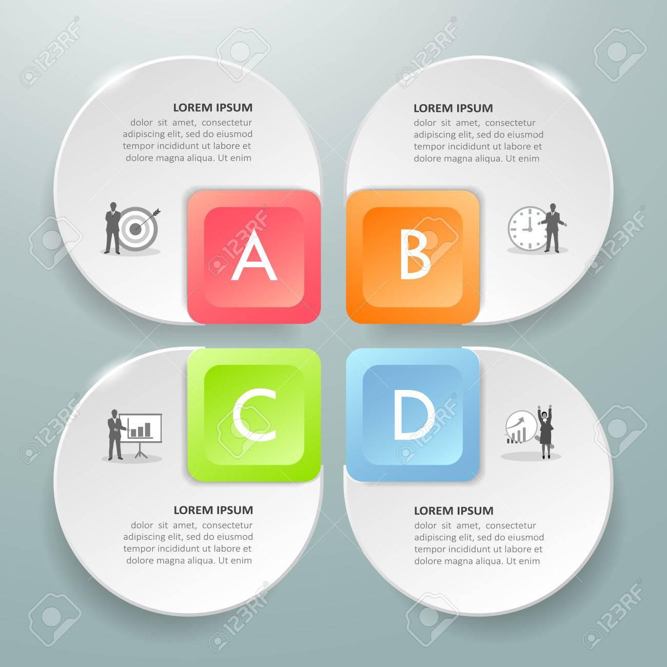 Plantilla De Diseño Plantilla De Infografía De Concepto De Negocio ...
