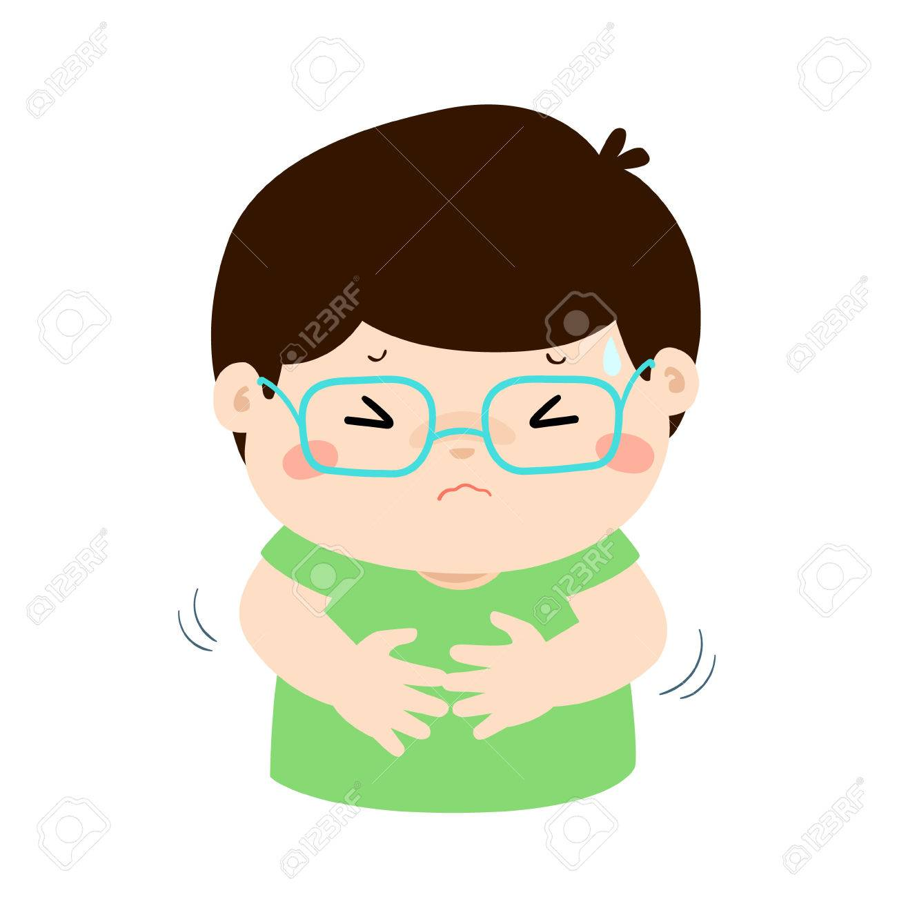 boy having stomach ache cartoon style vector illustration isolated royalty free cliparts vectors and stock illustration image 79017385 boy having stomach ache cartoon style vector illustration isolated
