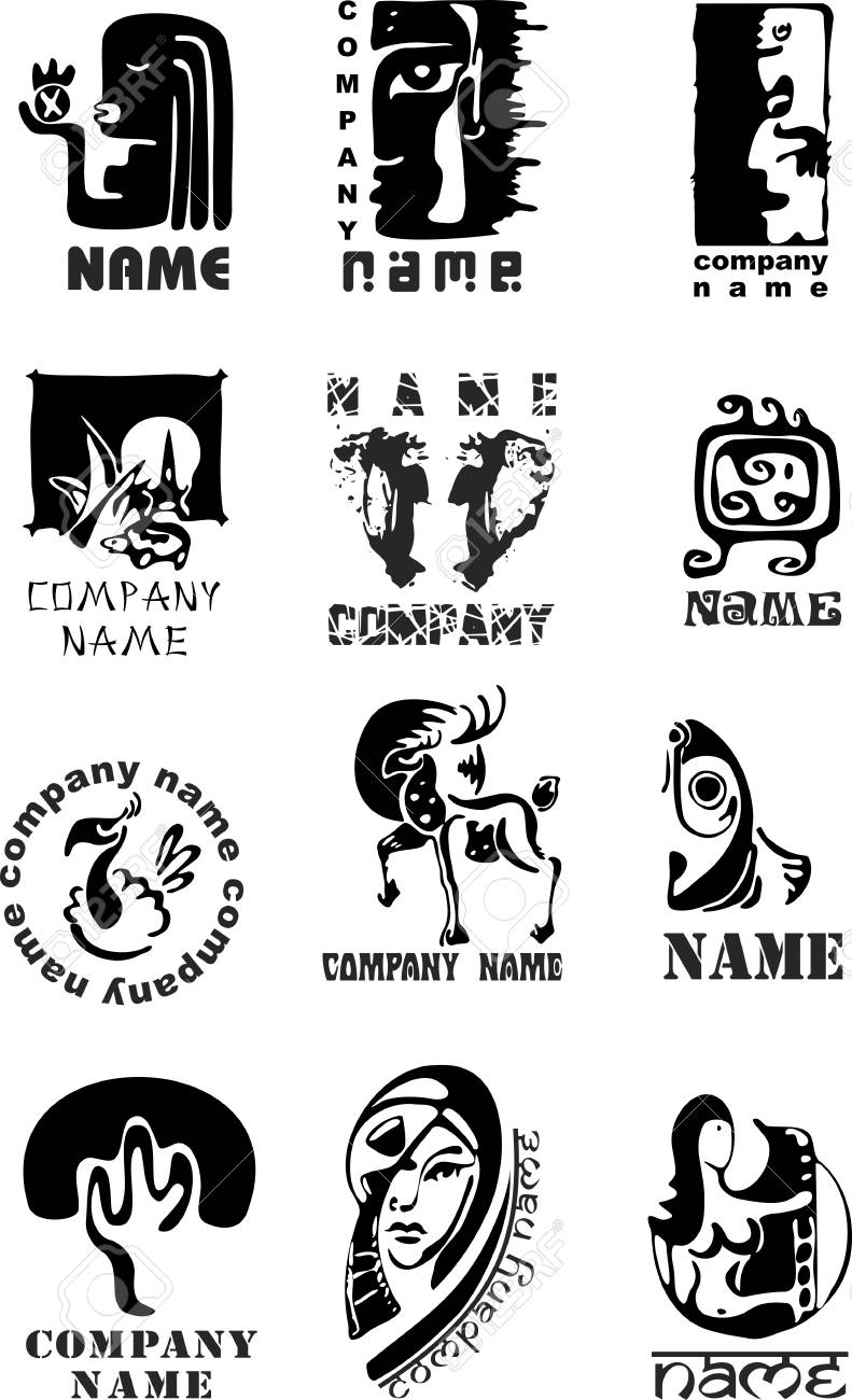 Set of template of logos for design Stock Vector - 13120102