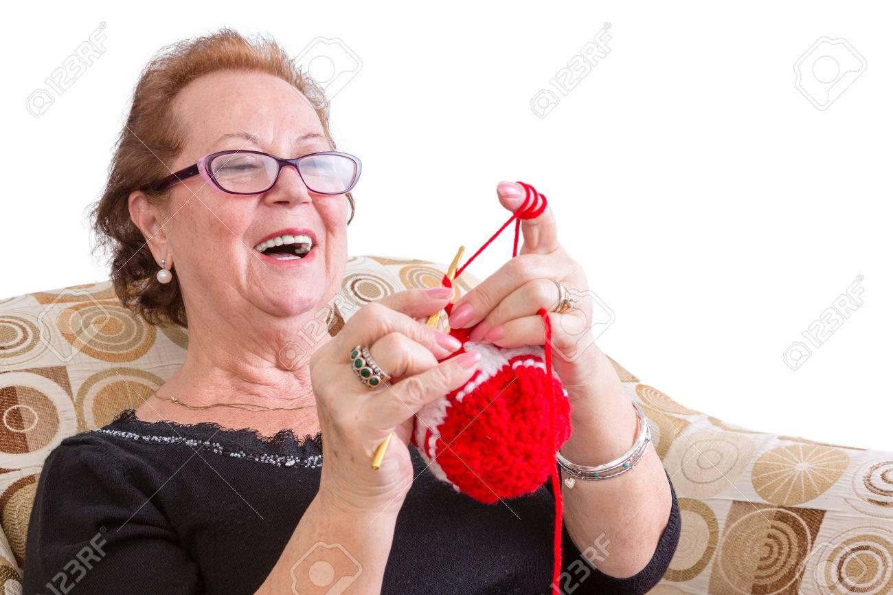 Пожилая дама сверху