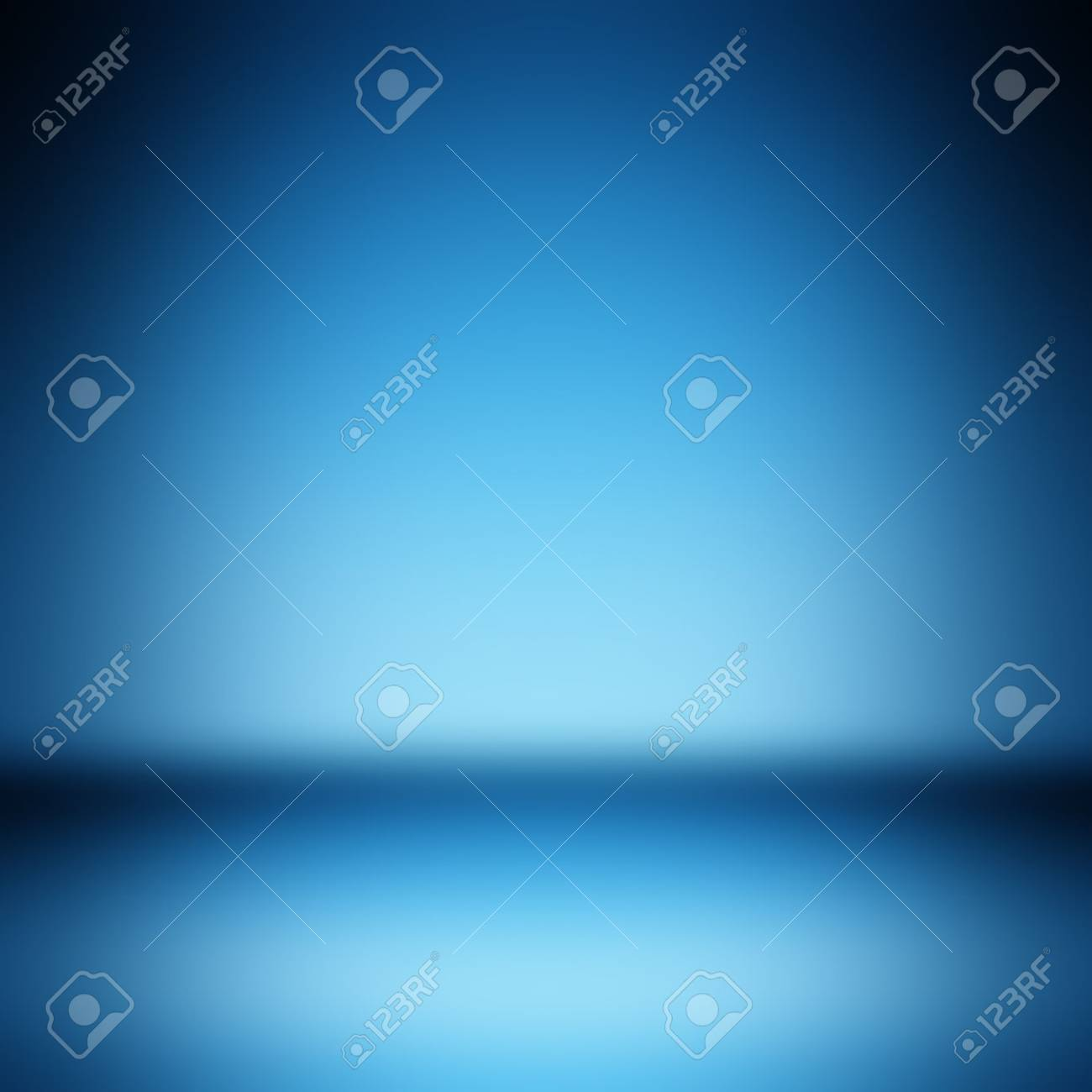 Light blue gradient abstract background. Empty room for display product - 62306009