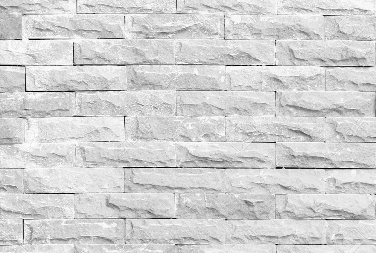 Weiße Steinwand Beschaffenheitsvignette Benutzt, Um Hintergrund Zu ...