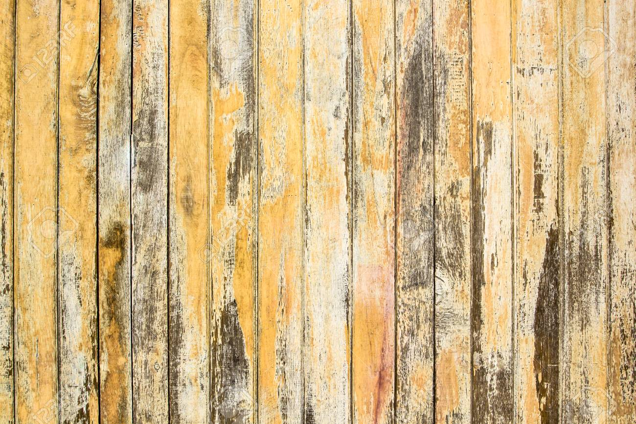 Old Wood Wall Texture Golden Vintage Using Classical Background ...