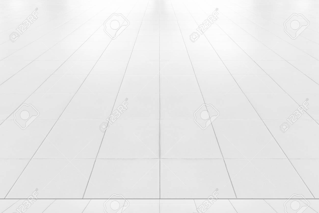 Piastrelle bianche texture del pavimento all interno dell edificio