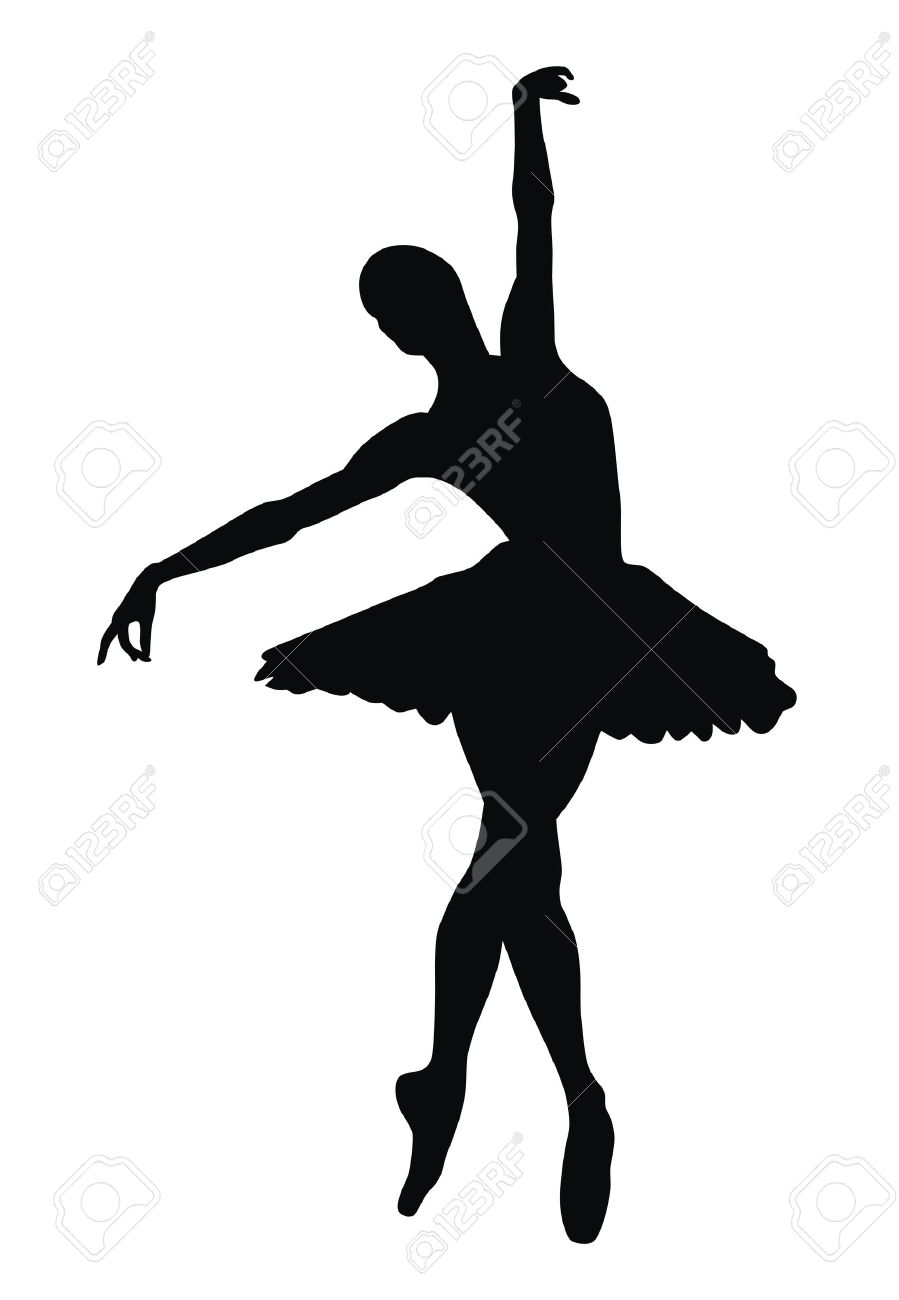 abstract vector illustration of ballerina royalty free cliparts rh 123rf com ballerina vector image ballerina vector png
