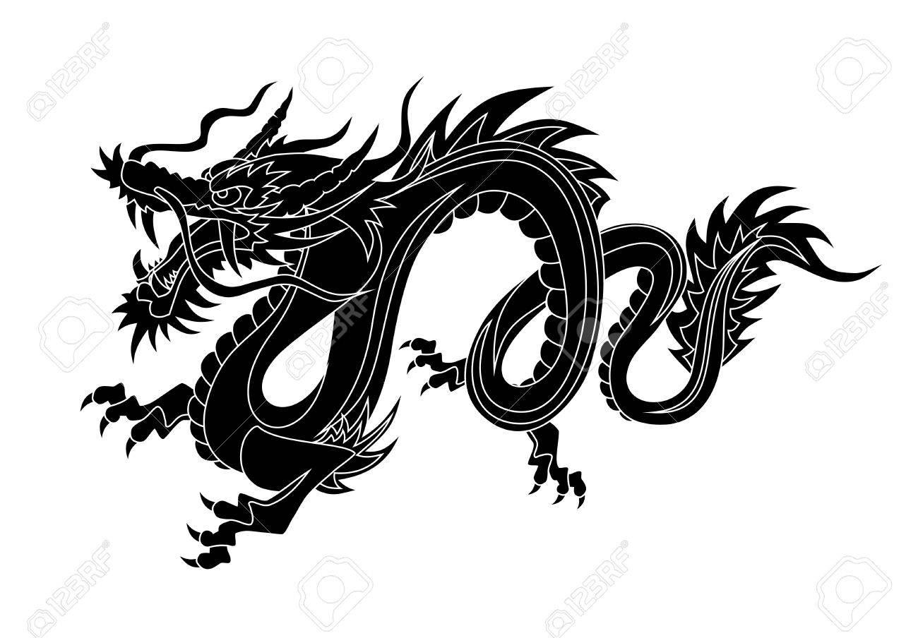 Dragon Stock Vector - 3819695