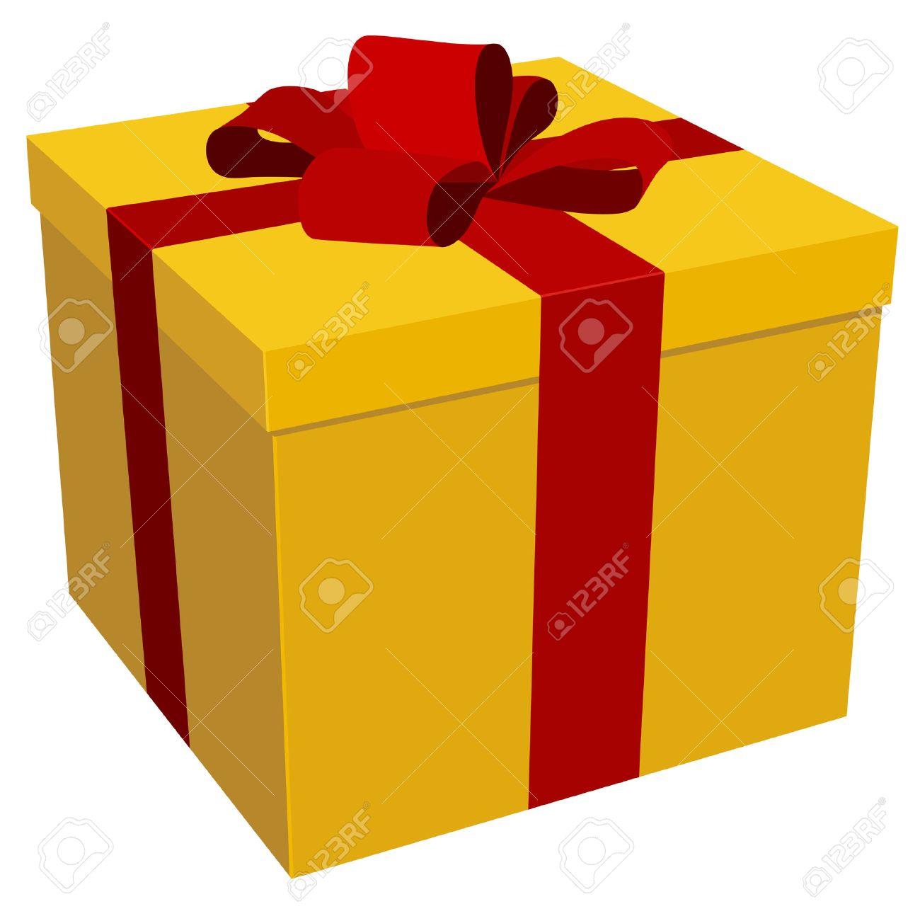Vector illustration of christmas/birthday gift Stock Vector - 3864686