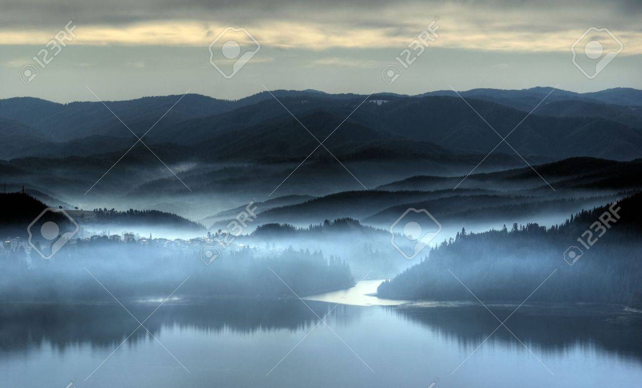 Misty morning in the end of november Stock Photo - 4334301